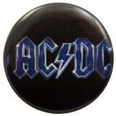 AC/DC - 'Logo Blue' Button Badge